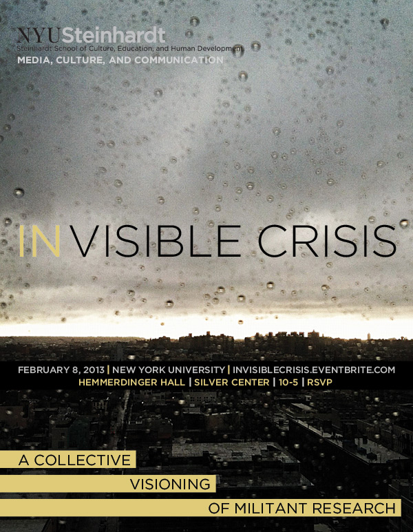 IN VISIBLE CRISIS